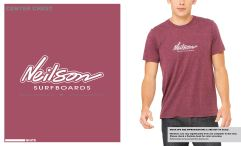 NeilsonShapes_RocketLogo_MaroonTriblend_Front