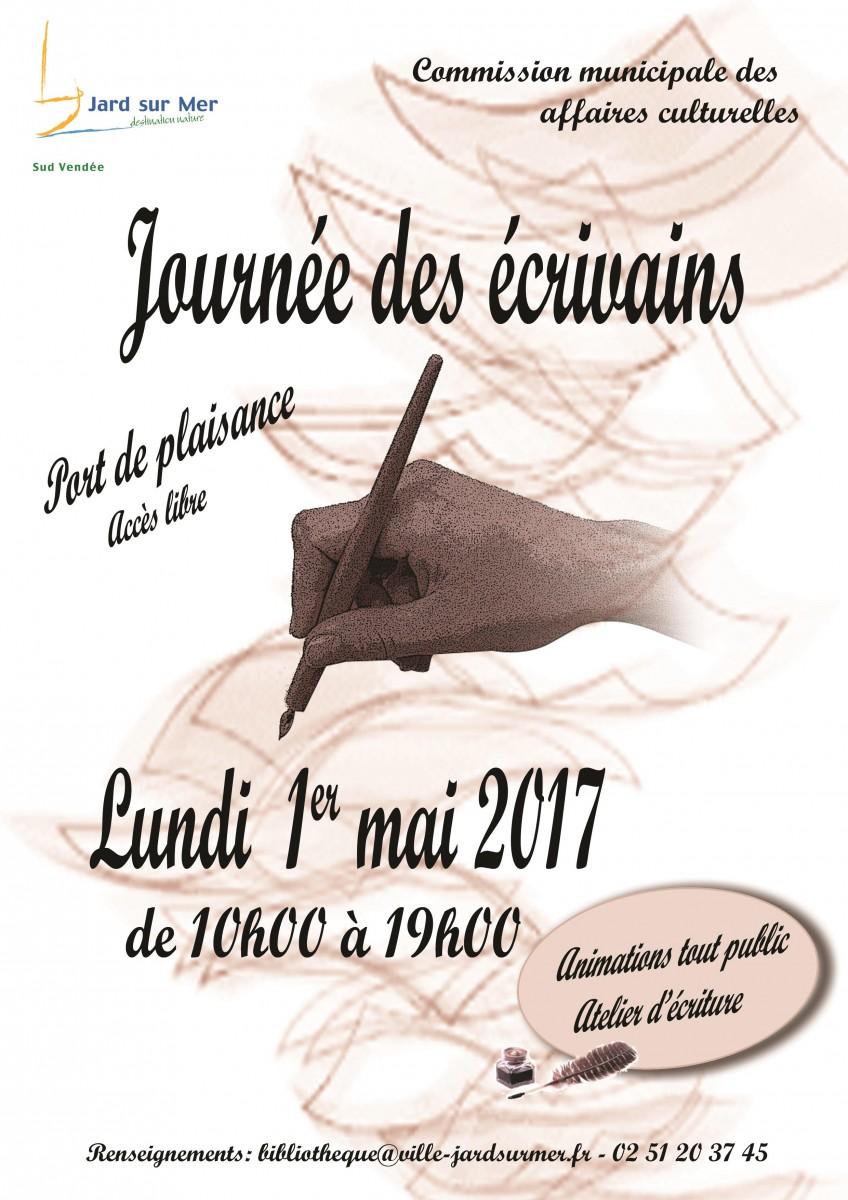 Bientôt la Journée des Écrivains à Jard s/ Mer (2017)