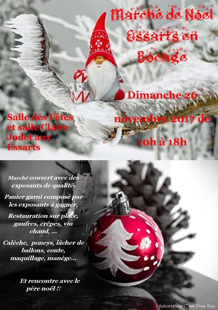 Marché de Noël aux Essarts
