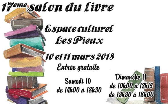 Venir au salon du livre Les Pieux 2018