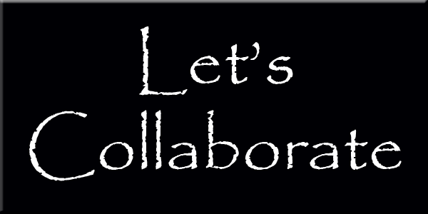 Lets Collaborate  wording graphics