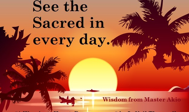 See the sacred in everyday