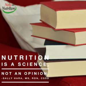 nutrition is a science