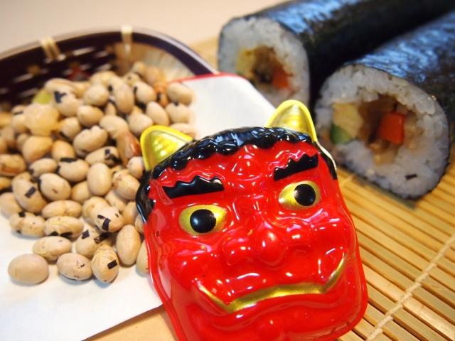 喪中に節分の豆まきは大丈夫なのか恵方巻きや神社の節分祭は良いの?