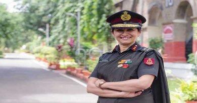 Major Gen Madhuri Kanitkar