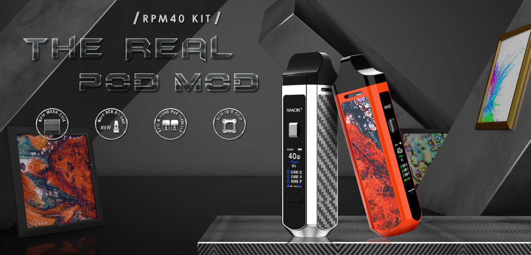 RMP-40-intro RPM-40 KIT The Real Pod Mod By Smok