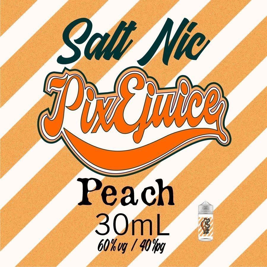 PixEjuice Fuzzy Peach Salt Nic 30mL