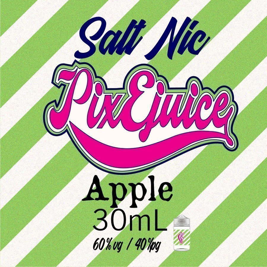 Apple PixEjuice Salt Nic 30ml