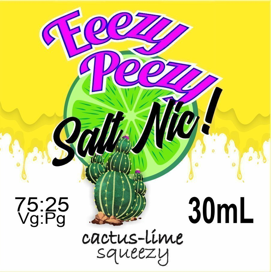 Cactus-Lime Squeezy Salt Nic
