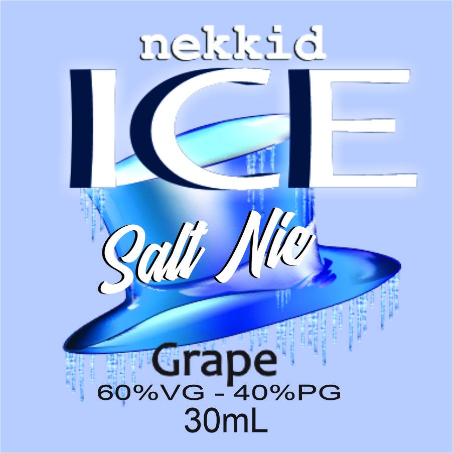 Grape Ice Salt Nic