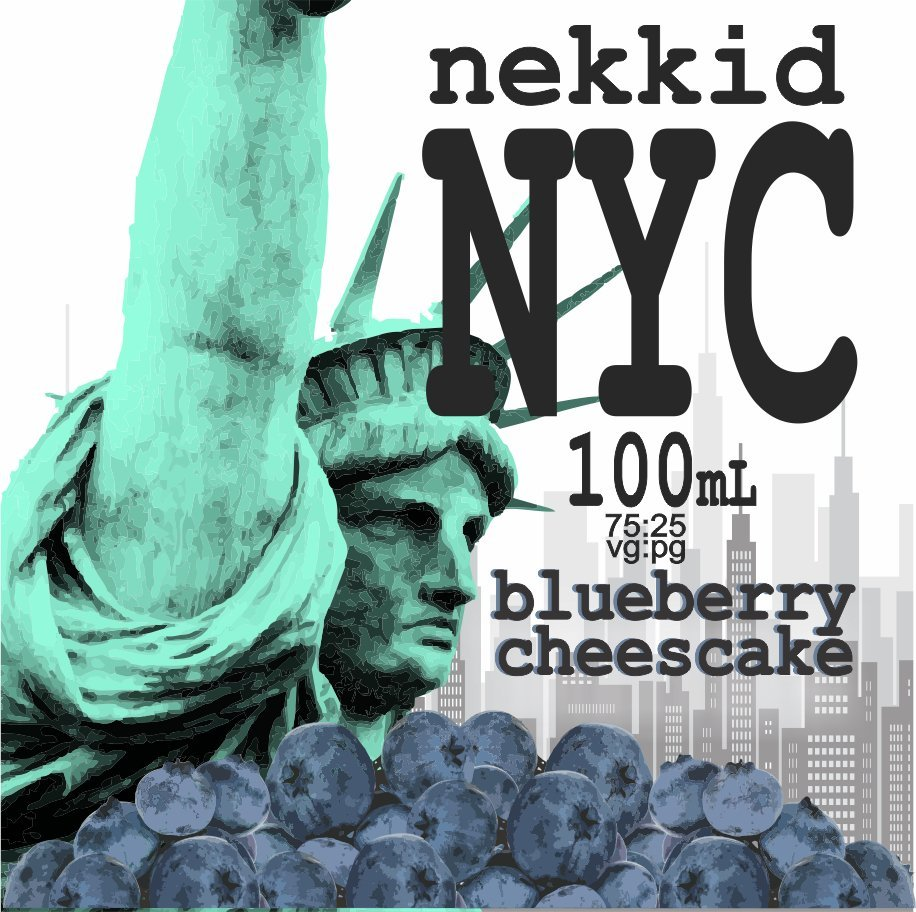 Blueberry Cheesecake - 100mL NYC