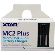 XTAR MC2 Plus Micro USB Li-ion Battery Charger