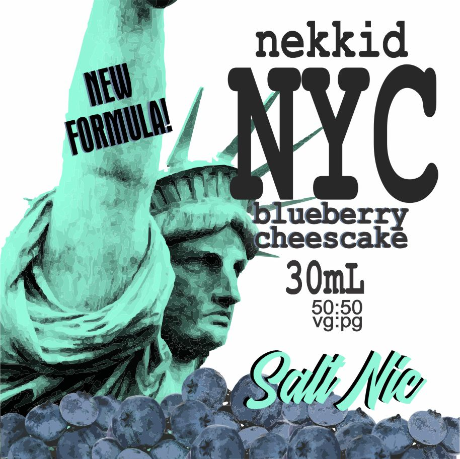NYC BLUEBERRY CHEESECAKE SALTH NIC