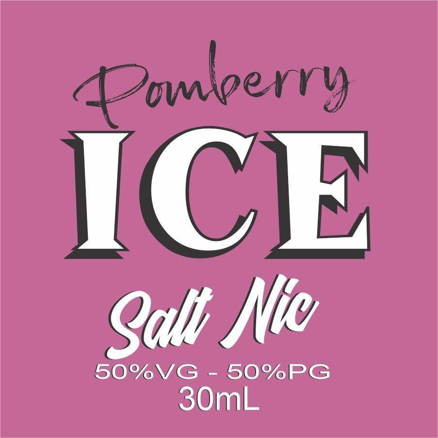 Pomberry Ice Salt Nic