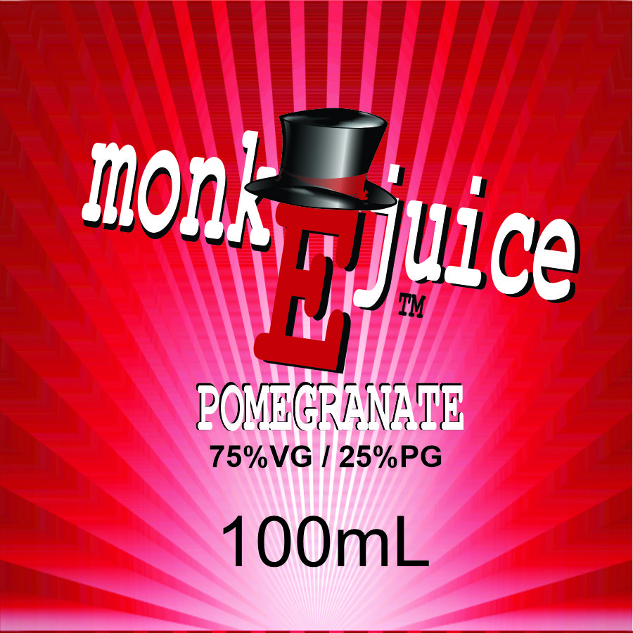 100mL Pomegranate MonkEjuice