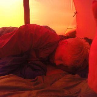 Minsten sov godt