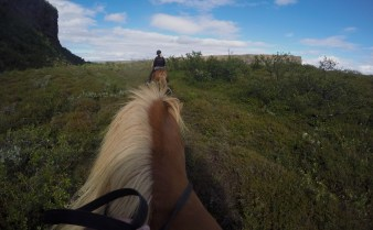 På ridetur