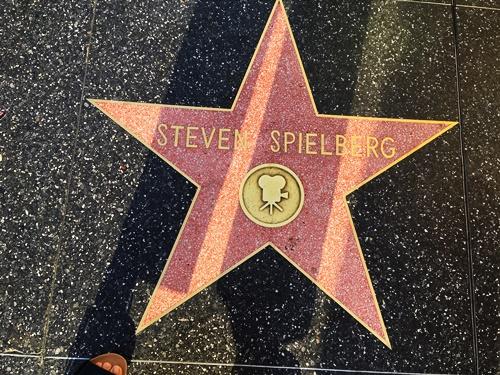 スピルバーグ監督の星形