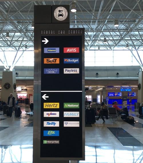 マイアミ空港レンタルカーセンター