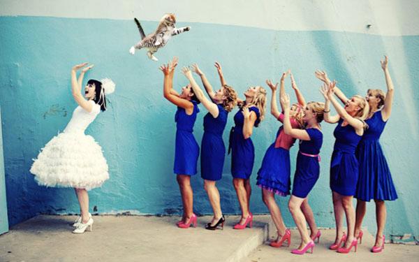 131026catthrow - 「ブーケの代わりに、花嫁が猫を投げる」というニッチすぎるコラ画像が集まるブログ