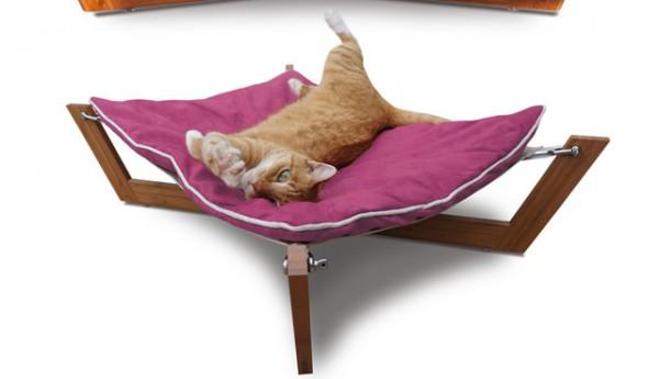 13111033PP Dog Cat 1024x1024 600x345 - モダンな猫ベッドシリーズ:「Bambú Hammock I」
