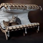 モダンな猫ベッドシリーズ:「Cove」