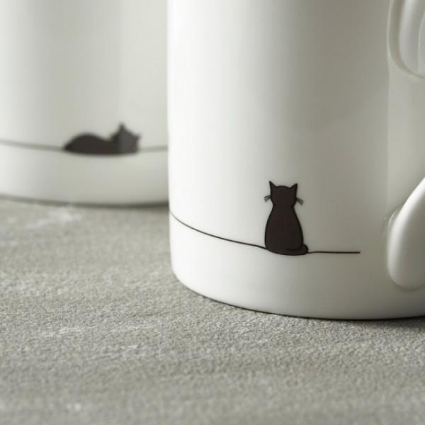 140626jincatmug 600x600 - 黒猫のマグカップ、日本から直接注文が可能になる