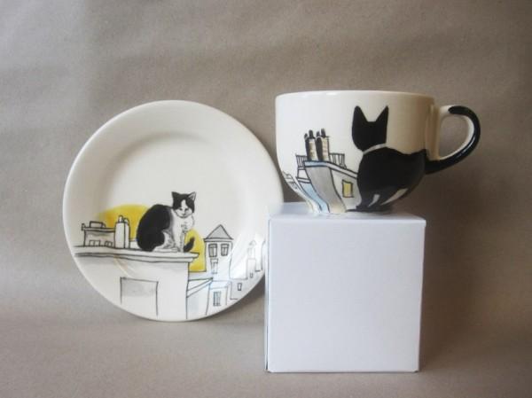 140712catcup 600x449 - 黒猫モチーフのティーカップ、日本からも購入可能と判明
