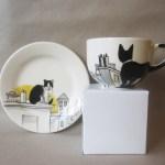 黒猫モチーフのティーカップ、日本からも購入可能と判明