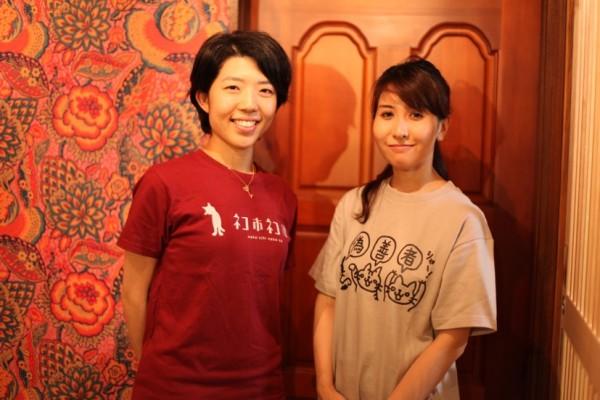 店長の徳永さん(写真左)