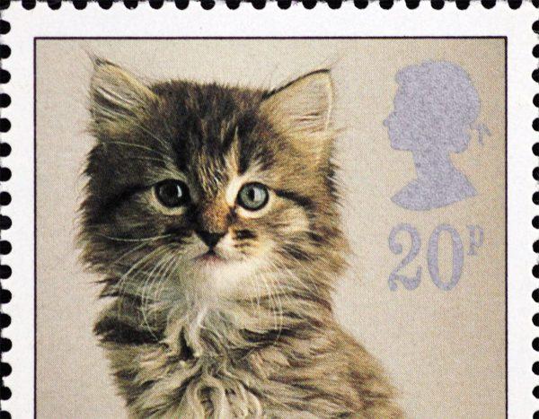 160517catstamp 600x467 - 猫の切手の総選挙、美猫ブサカワ大混戦