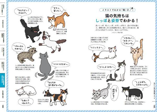 171215catbook03 600x426 - 用語から知る猫基礎知識、あの現代用語辞典に猫版が登場