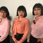 ブルゾンちえみさん阿佐ヶ谷姉妹にキャリアウーマンメイク!