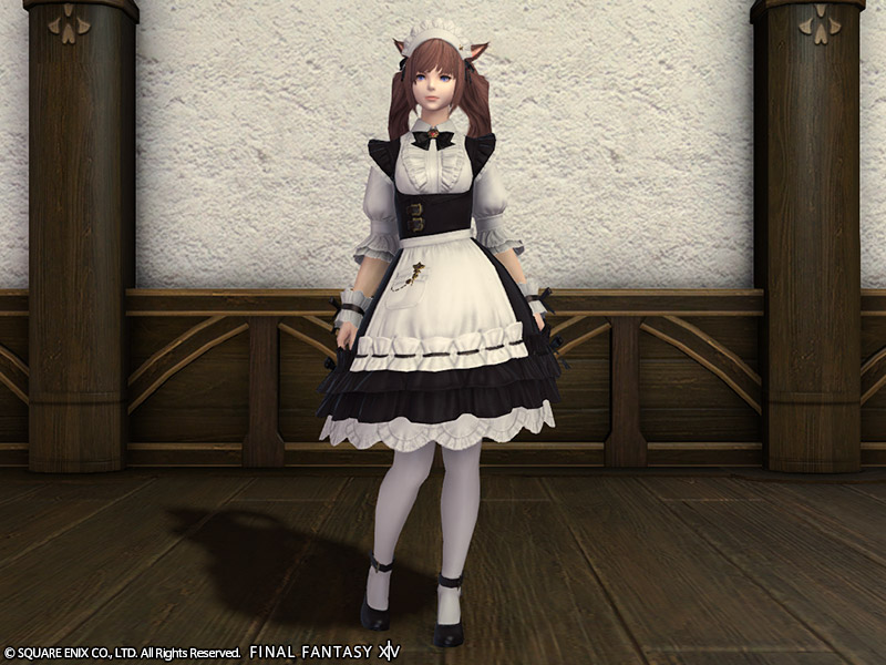 ffxiv how to get maid outfit