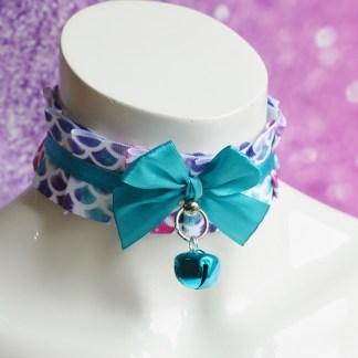 Mermaid lagoon - kawaii necklace collar