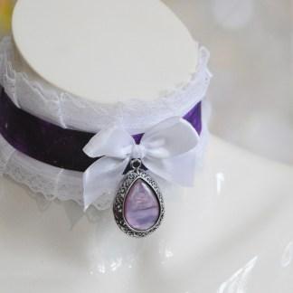 Nebula Lady - Gothic lolita cute choker necklace