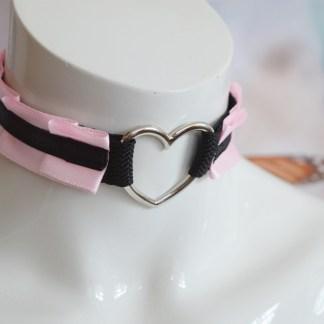DDLG choker - Heart of Love