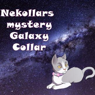 Surprise Mystery Galaxy collar - Nebula Galaxy Space themed
