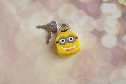 Despicable Me Minion shaped lock