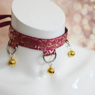Golden Tapestry - Gothic goth lolita necklace collar