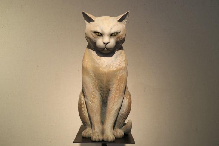 木彫りの猫3