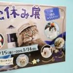 ねこ休み展ポスター