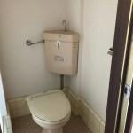 1階にあるトイレ