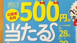 DCMグループ ペットフードキャンペーン 応募者全員500円分当たるキャンペーン
