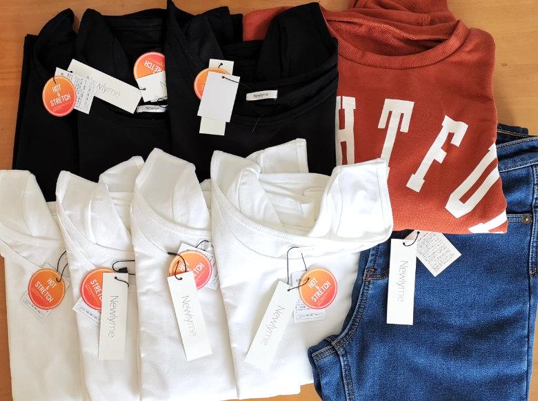 【夢展望の株主優待利用】支払い額10円!夢展望通販サイトから服を注文
