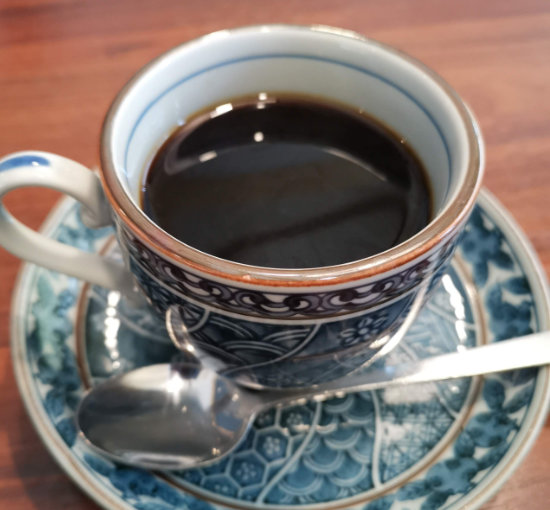 藍屋のコーヒー