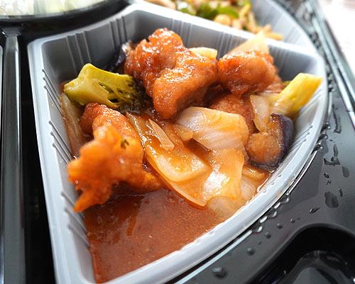 バーミヤンの香港風酢豚