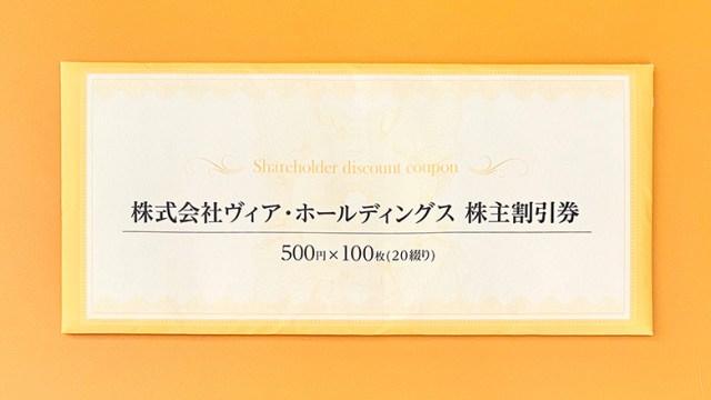 ヴィア・ホールディングス(7918)の株主優待が到着【2020年】