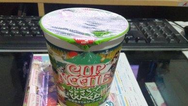 Nissin Cup Noodle Green Tea