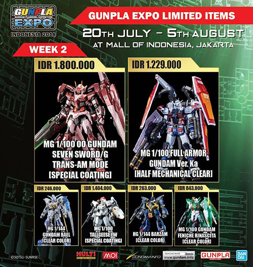 gunpla expo 2018 indonesia